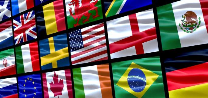 Bandiere e colori - Bandiere bianche a colori ...