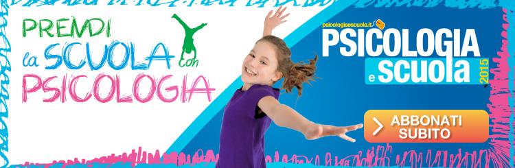 Psicologia e scuola campagna 2013-2014