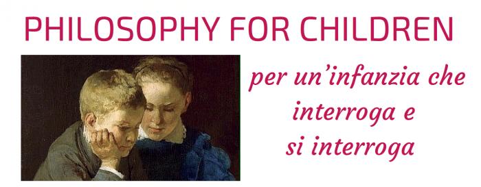 Risultati immagini per filosofia per bambini