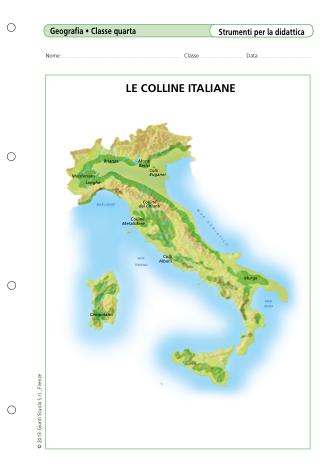 Cartina Fisica Italia Colline.Il Paesaggio Delle Colline Lessons Blendspace