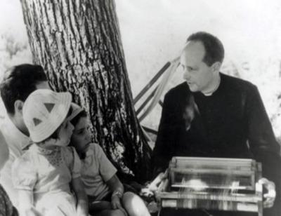 Fuori dalla classe, il telaio, Scuola di Barbiana, anni cinquanta