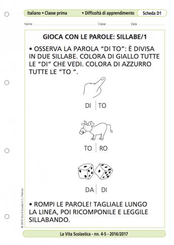 dalla parola alla sillaba dalla parola al fonema la vita scolastica. Black Bedroom Furniture Sets. Home Design Ideas