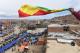 Divertiamoci con le bandiere. Una lunga bandiera boliviana