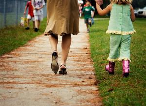 Genitori e bambini  a scuola