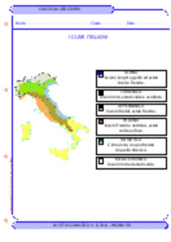 più colori vendita a buon mercato usa consegna gratuita Le regioni climatiche italiane - La Vita Scolastica