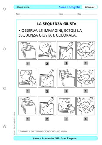 Prove Dingresso Storia E Geografia Classe 1 La Vita Scolastica