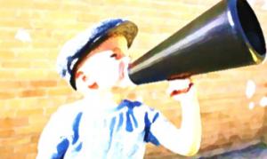 bambino comunicatore