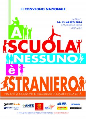 A scuola nessuno è straniero. Palermo 14 e 15 marzo