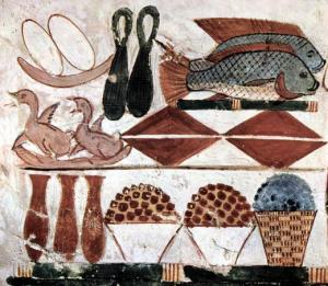 Cibi e quantità degli egizi