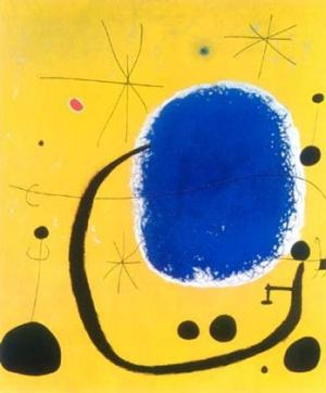 Luna E Stelle Di Miró