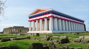 Tempio di Nettuno pelle