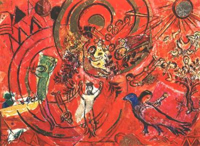 Marc Chagall Il Flauto magico