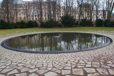 Memoriale Sinti Rom a Berlino