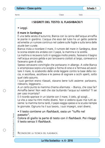 Le Tecniche Del Racconto La Vita Scolastica