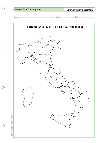Immagini Cartina Muta Italia.Carta Muta Dell Italia Politica La Vita Scolastica