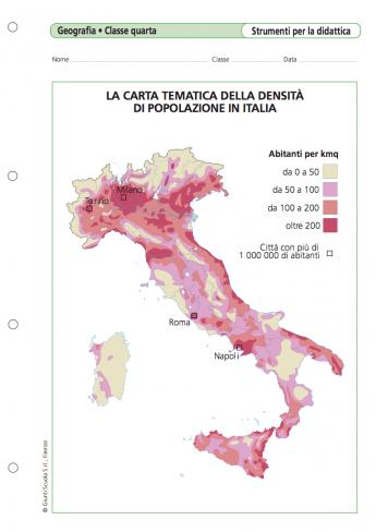 Cartina Tematica Italia Da Stampare.1 Le Carte Geografiche Lessons Tes Teach