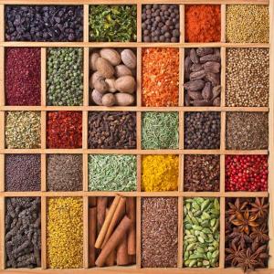 Spezie a colori