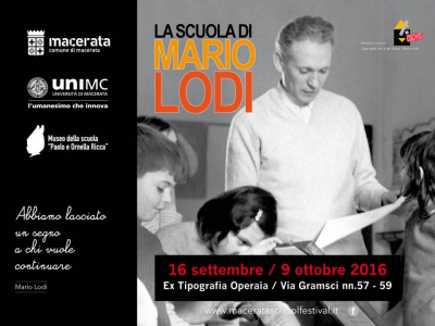 Mario Lodi a Macerata