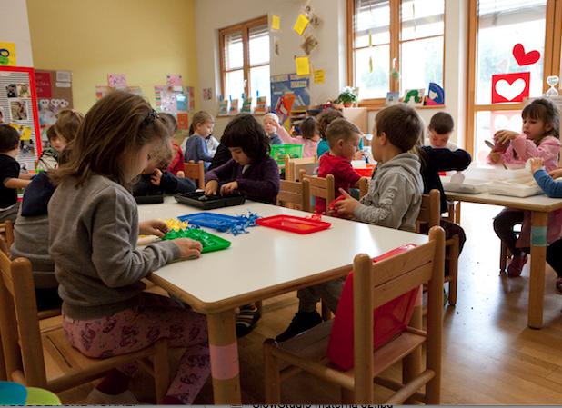 scuola infanzia sezione
