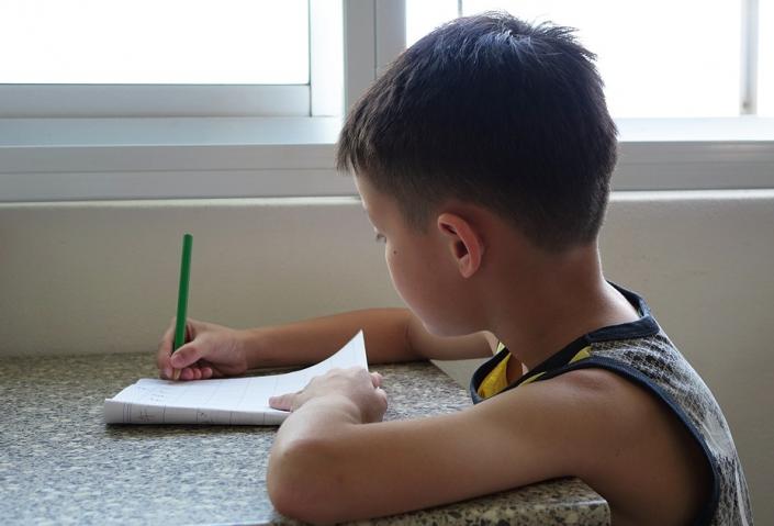 scrivere bambini
