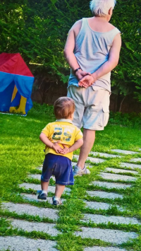 nonno bambino nonni