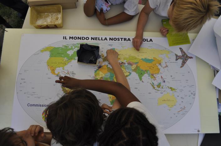 planisfero intercultura scuola mondo