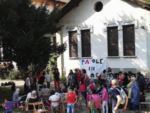 Canti alla festa di Paroleingioco - photos in copyleft by Maurizio Biosa