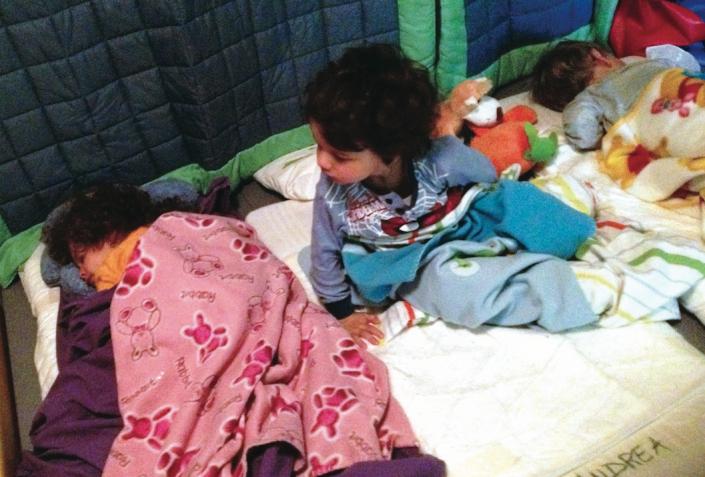 nidi infanzia dormire lettino riposo