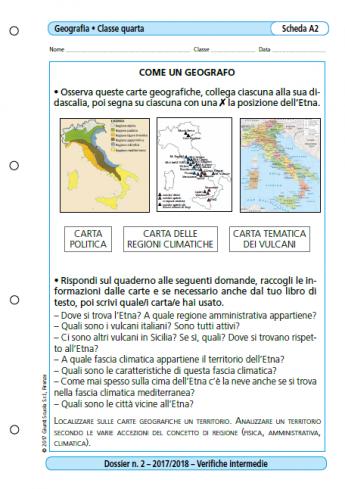 Verifiche Intermedie Geografia Classe 4 La Vita Scolastica
