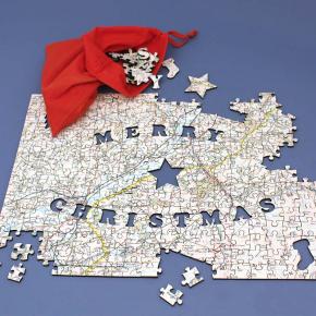 Buon Natale Particolare.In Regalo Per Natale Due Carte Geografiche