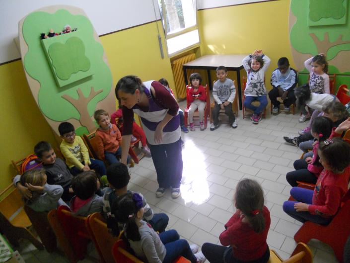 gruppo sezioni scuola infanzia dialoghi