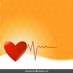 elettrocardiogramma-cuore-su-sfondo-arancione_1017-366