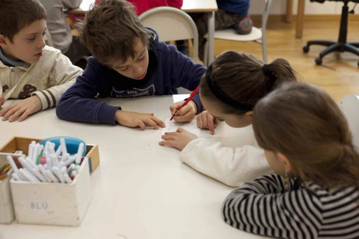gruppo classe scrittura cooperativa