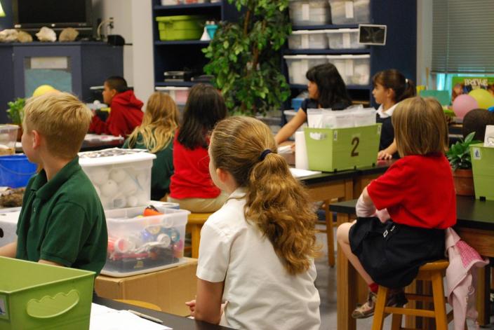 gruppo classe bambini primaria