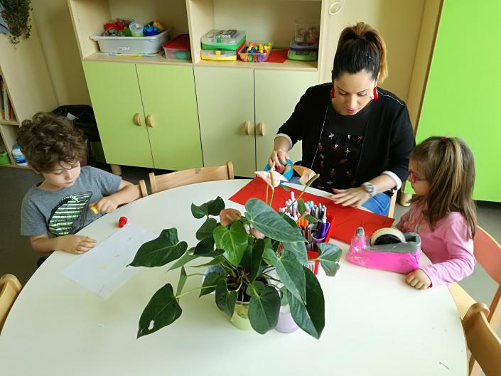 infanzia insegnante bambini natura