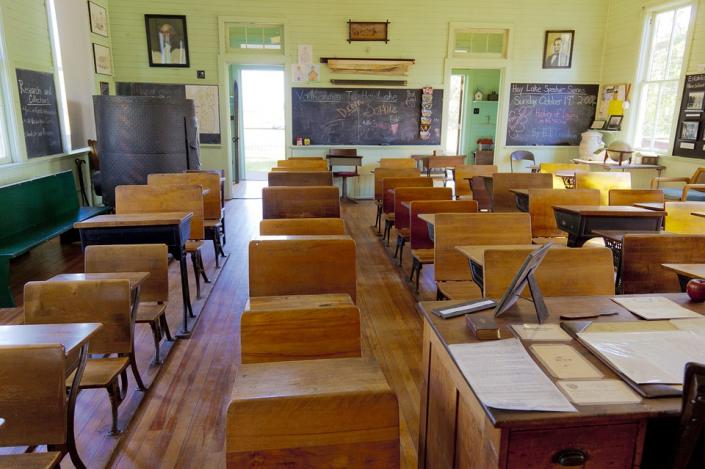 cattedra classe scuola vecchia