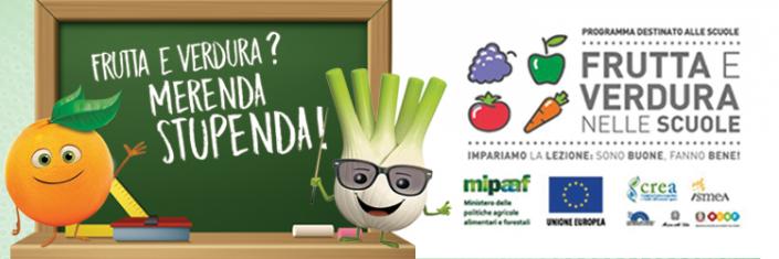 Risultato immagini per logo frutta e verdura nelle scuole