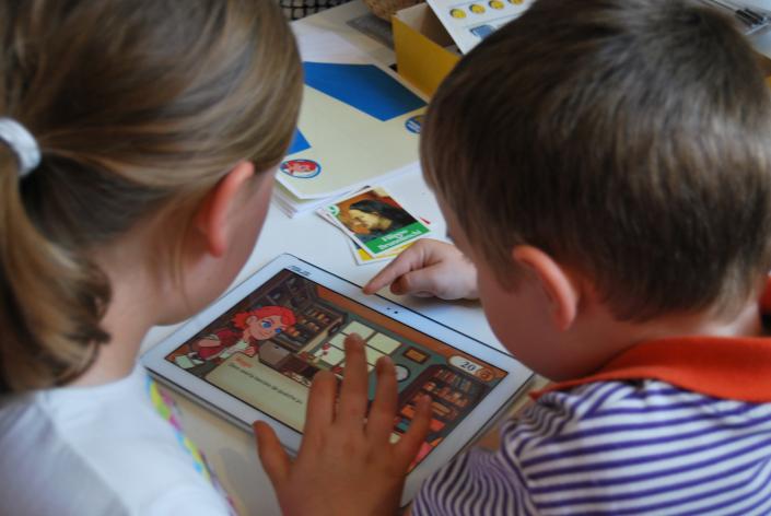 maggie app applicazione bambini tablet