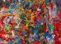 arte astratta colore pastello