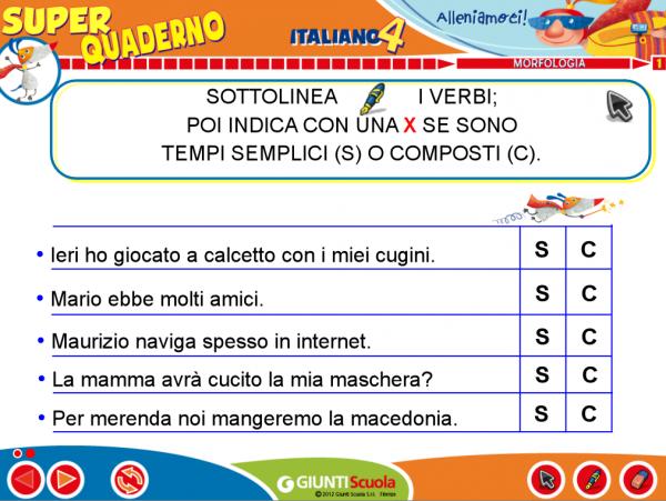 Il Mio Super Quaderno Italiano 4 Area Riservata