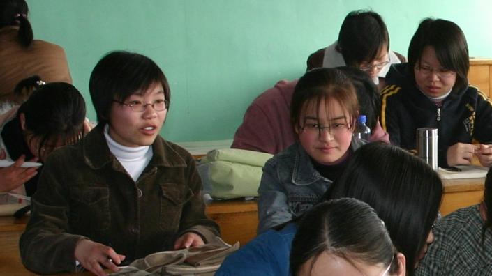 classe con studenti cinesi