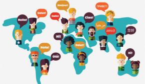 Cartina Tematica Spagna.In Una Carta Le Lingue Del Mondo