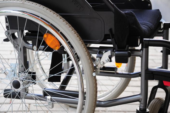 sedia a rotelle disabilita