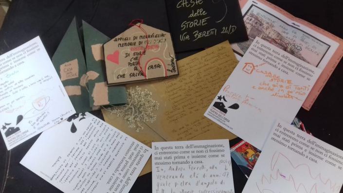 lettere casa delle storie