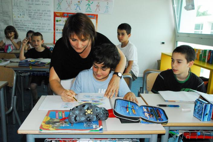 classe multiculturale  maestra