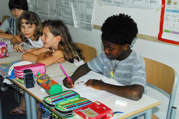 classe multiculturale scrittura 2