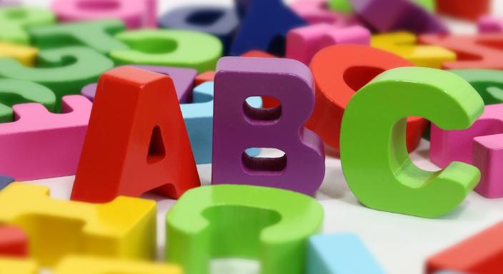 lettere alfabeto dislessia