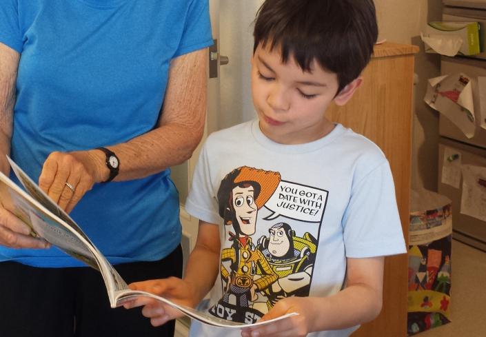 leggere insieme bambino
