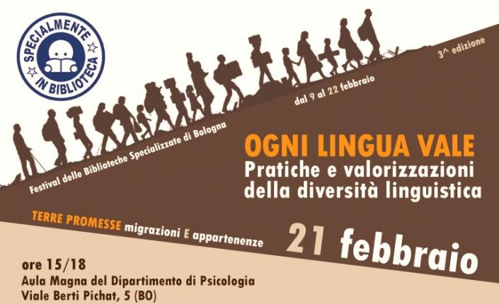 ogni lingua vale bologna febbraio 2019