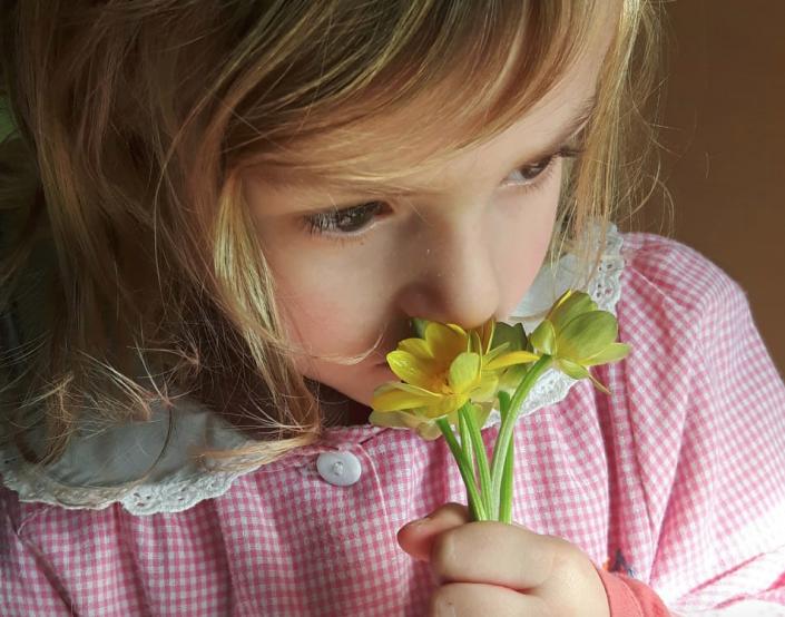 anna lisa di giacinto respiro bambina fiore